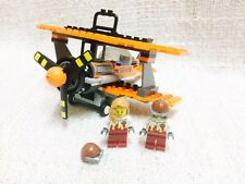 Lego City Airport Air Show Orange Airplane Mint 3182/60104/60022/60103