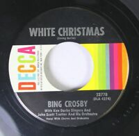 Christmas 45 Bing Crosby - White Christmas / God Rest Ye Merry, Gentlemen