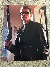 ARNOLD SCHWARZENEGGER Signed Autographed 8x10 Photo W/COA Terminator