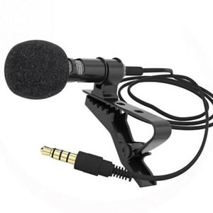 3.5 mm Microphone Clip Tie Collar for Mobile Phone Speaking in Lecture