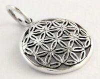 Fiala Die Blume des Lebens Klein Anhänger Silber Gothic Schmuck - NEU