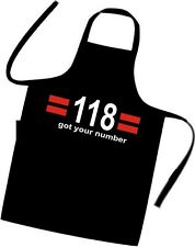 118 118 Chefs / Cooks / Apron / BBQ / Birthday / Xmas / Party / Fancy Dress