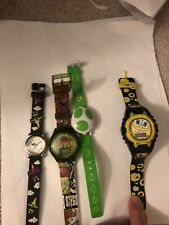 Kids Watch Lot Of 4 Spongebob Yoshi Dino And Plane