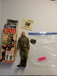 Action Man soldier  soft head, made by Palitoy