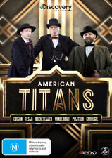 American Titans (Discovery Channel)  - DVD - NEW Region 4