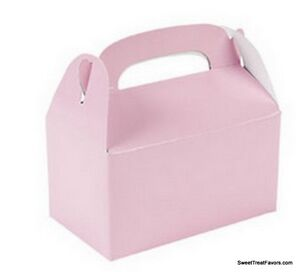 SOFT PINK BABY Party Supplies BOXES Birthday Decoration GABLE Loots x12 Bag NEW