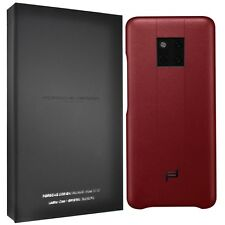 New Original Porsche Design Huawei Mate 20 RS Leather Case Cover Red