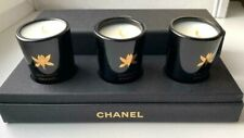 CHANEL Candle set of 3 scented mini bougies parfumees VIP GIFT