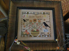 10% Off Tree of Life Samplings Counted X-stitch chart - Penny Harvest