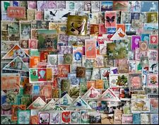Whole World Mixed 1000 All Different Postage Stamps without India & Arab-S&L