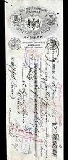 """SAUMUR (49) VINS DE CHAMPAGNE MOUSSEUX """"BOUVET & LADUBAY"""" en 1885"""