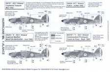 Berna Decals 1/48 HAWKER HURRICANE Mk.I French GC1 Alsace Squadron