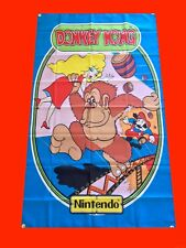 LARGE Donkey Kong Arcade Video Game Banner Flag Poster
