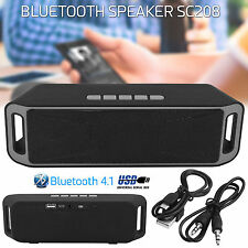Megabass SC208 Bluetooth Handsfree Call TF USB FM Radio Music MP3 Player Speaker