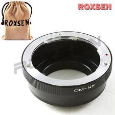 Olympus OM Lens To Samsung NX Mount Adapter NX100 NX11 NX210 NX110 NX1000 NX200