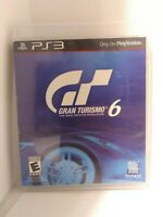 Gran Turismo 6 (Sony PlayStation 3, 2013)  Game and Disc Tested Fast Shipping