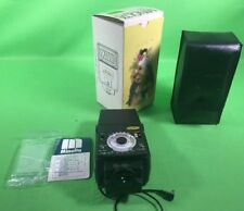 Minolta Auto 320X Shoe Mount Flash Unit Flashgun with original box