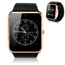 NFC Smart Watch Android Clock Smartwatch Kids With HD Camera SIM Card Slot Gold