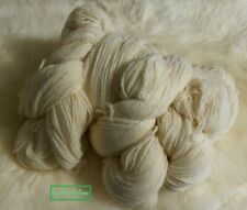 Schafwolle, Schurwolle, Strickgarn, Naturwolle weiß 1kg