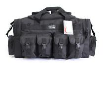 "X-LARGE Gun RANGE BAG Black Pistol Ammo Storage Case Luggage 30"" Sports Duffle"