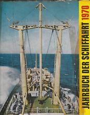Jahrbuch der Schiffahrt 1970. Schiffbau Schiffstypen Überseehafen Rostock DDR..