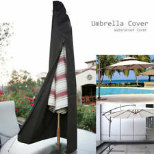 Patio Cantilever Umbrella Cover Garden Parasol Sun/Rain/Dust Protection Outdoor