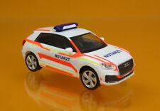 "Herpa 093361 Audi Q2 "" Notarzt "" Neutral"