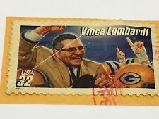 United States Stamp Canceled Collectors USA Vince Lombardi USA .32 1997 Packers