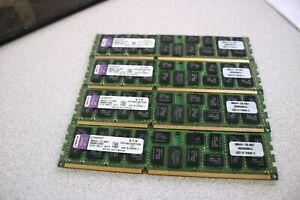 4x8GB 32GB Kingston KVR1066D3Q8R7S/8G 4Rx8 DDR3-1066 CL7 SDRAM 240-pin DIMM RAM