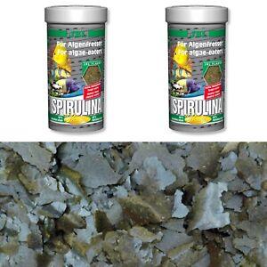 JBL   Spirulina Flocken 2 x 1 Liter Set für  Malawis Tropheus