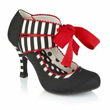 Ruby Shoo Aisha (Black Stripe)