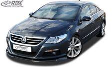 RDX Spoilerlippe für VW Passat CC BIS Bj. 2012 Ansatz Schwert Front Lippe