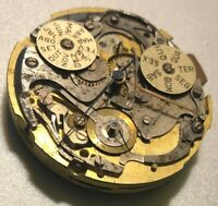 Universal Geneve chronograph triple date & moon phase caliber 287