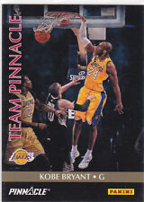 KOBE BRYANT & KYRIE IRVING Team Pinnacle DUAL INSERT BASKETBALL CARD Lakers Cavs