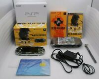 Used PSP-3000 Console Metal Gear Solid Peace Walker Premiun Package Japan Kojima