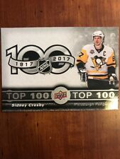 17-18 UD Tim Hortons Collectors Series Top 100 Checklist #Top-1 Sidney Crosby
