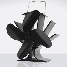 Ventola Termica a 4 Pale Per Stufa a Legna Stufa Camino Efficiente Stove Fan