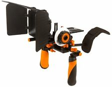 Pro Steady DSLR Complete Movie Rig with Shoulder Mount and Follow Focus System a