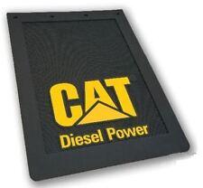 """Cat Caterpillar Diesel Mudflaps Pair 24"""" x 36"""" Item CAT2269-DIESEL"""