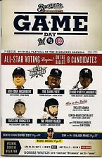 ALL-STAR VOTING BEGINS ON COVER MILWAUKEE BREWERS 2013 GAMEDAY PROGRAM ISSUE #4