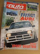 AUTO PASSION n°131: 09+10/1999: SPECIAL AUDI - AUDI SPORT QUATTRO - FERRARI 400