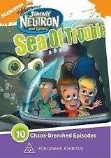 Jimmy Neutron Sea Of Trouble (DVD, 2005) 10 Chaos-Drenched Episodes Nickelodeon