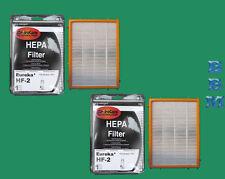 2 HF2 HEPA Filter Eureka Vacuum Ultra SmartVac Cyclonic Omega Boss Vac #61111D