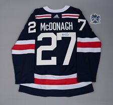NY Rangers Autographed Ryan McDonagh 2018 Winter Classic Jersey Size 52