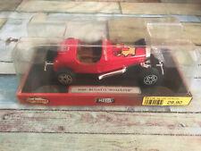 Voiture miniature Bugatti Roadster 4160 Majorette au 1/24
