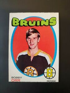 1971-72 O Pee Chee #100 Bobby Orr Boston Bruins EXMT, Very nice! 💥💥