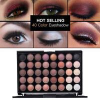 40 Colors Matte Eyeshadow Cream Eye Shadow Makeup Palette Shimmer Cosmetic nice