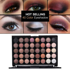 40 Colors Matte Eyeshadow Cream Eye Shadow Makeup Palette Shimmer Cosmetic nice