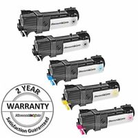 5PK Black & Color Toner Cartridge set for Xerox Phaser 6130 6130N BCMY 106R01281