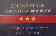 3 NEW 45°  BLADES for ROLAND VINYL SIGN CUTTER